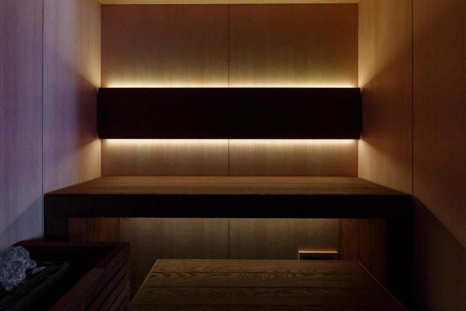 Sauna finlandais Design