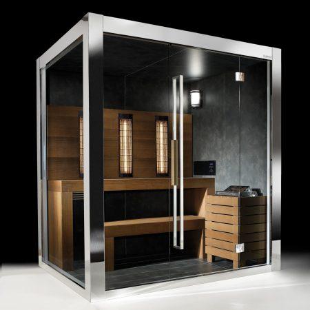 sauna infrarouge design